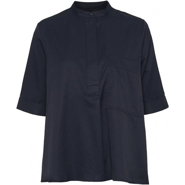 NORR Rie top Shirt Navy