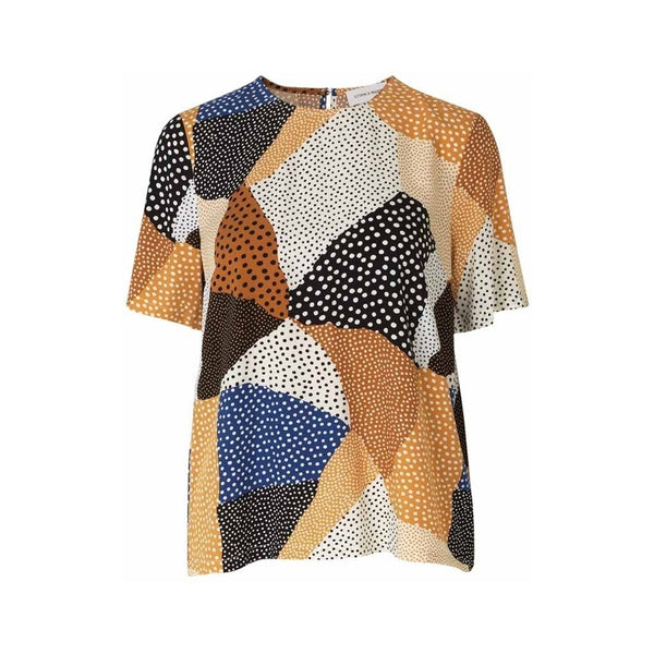 Storm & Marie Sade short sleeve top Tops & tees Golden dot mix