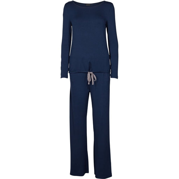 lulu's drawer Vera soft sæt Sleepwear Navy