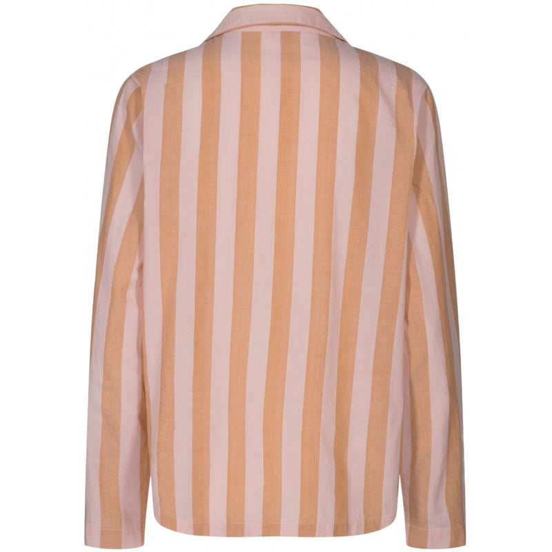 Lulus drawer lounge Iman shirt Loungewear Fudge/peach stripe