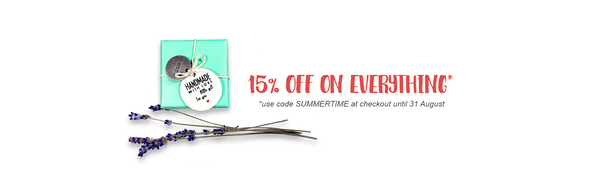 15% OFF on every jewelry in my Etsy shop!