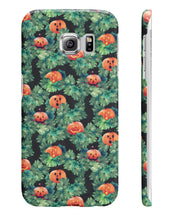 Halloween Pumpkin Pattern Black Edition All UK Phone Cases