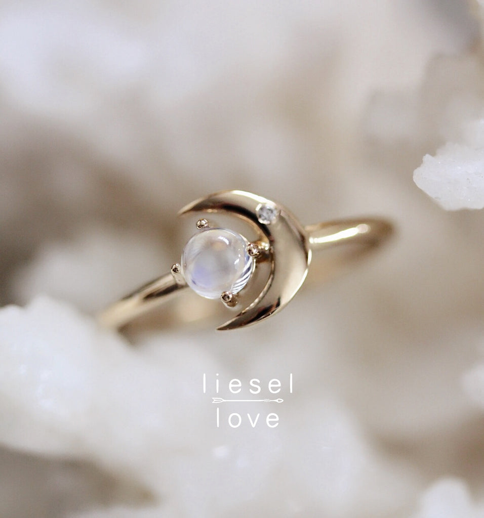 Moon of My Life Ring (Moonstone)