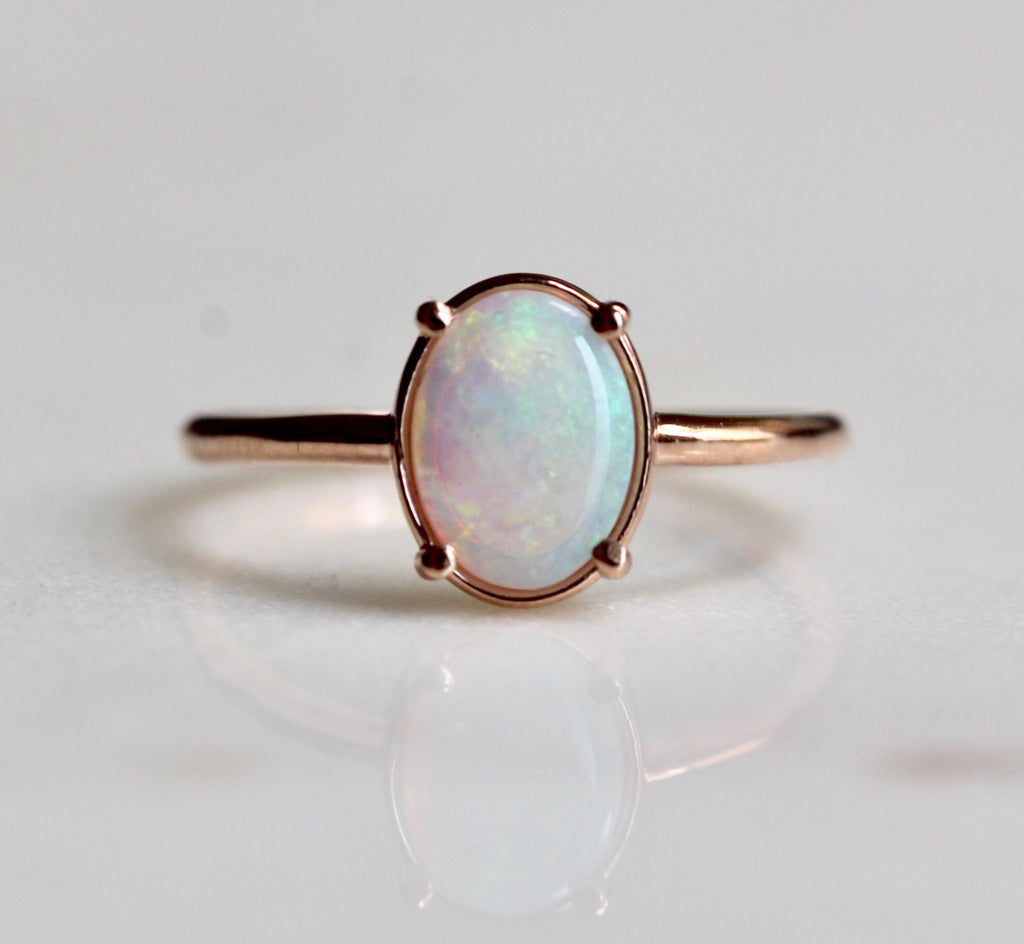 Australian Opal Statement Ring