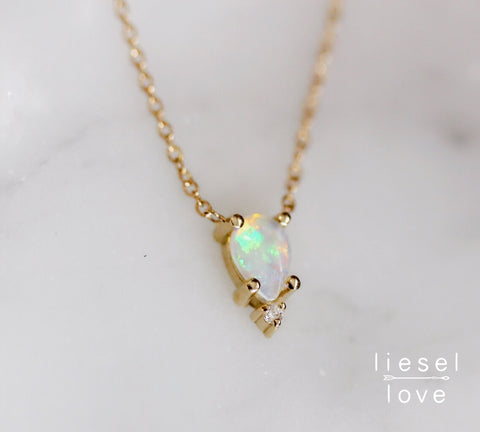 Unicorn Tears Necklace (Opal)