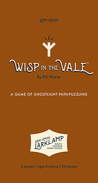 Lumo Amuzo - Wisp in the Vale Rulebook Cover