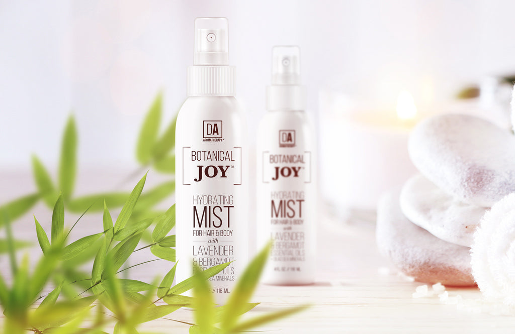Introducing Botanical Joy™ Alcohol-Free Hydrating Hair & Body Mist