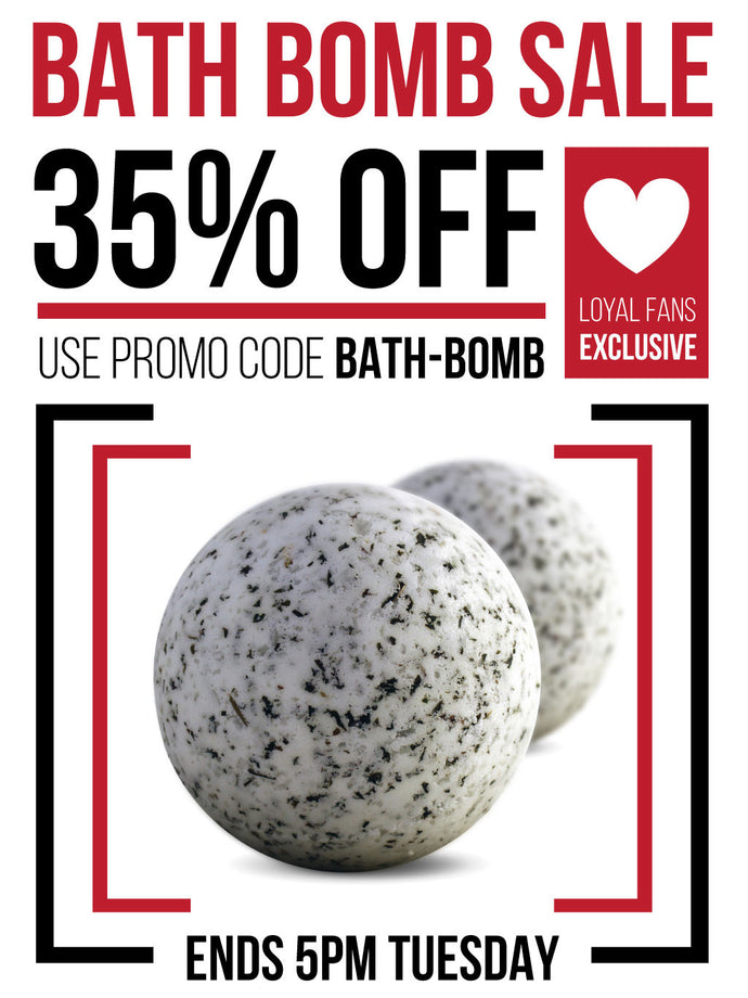DA Aromatherapy Bath Bomb Sale today and tomorrow only!