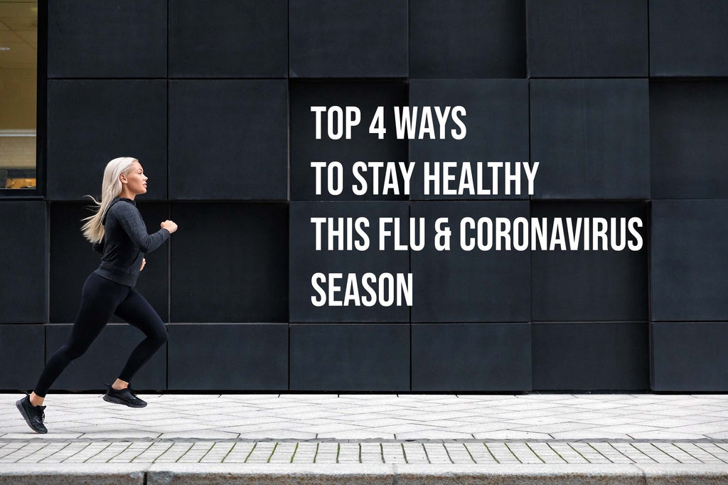 Top Four Ways to Stay Healthy this Flu and Coronavirus Season