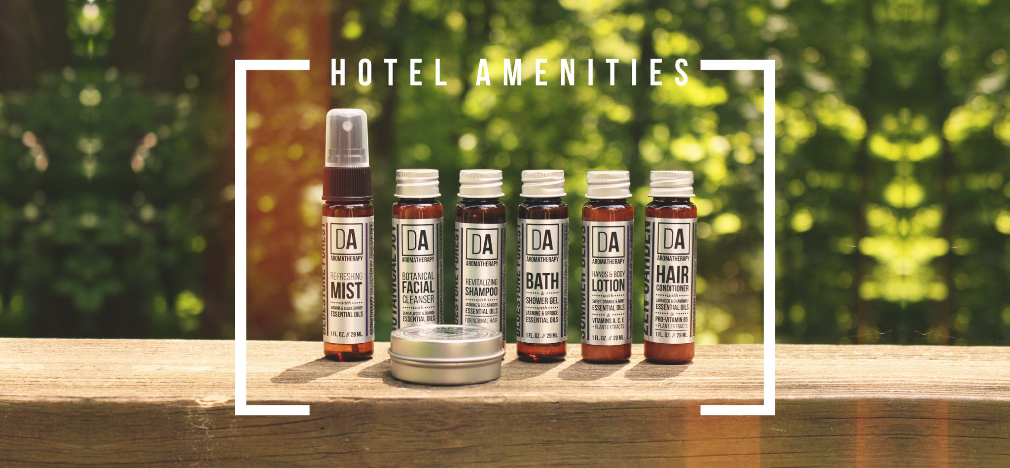 Our Hudson Valley-inspired Aromatherapy products will perfectly complement the sophisticated guest services your luxury boutique hotel or authentic bed and breakfast offers.
