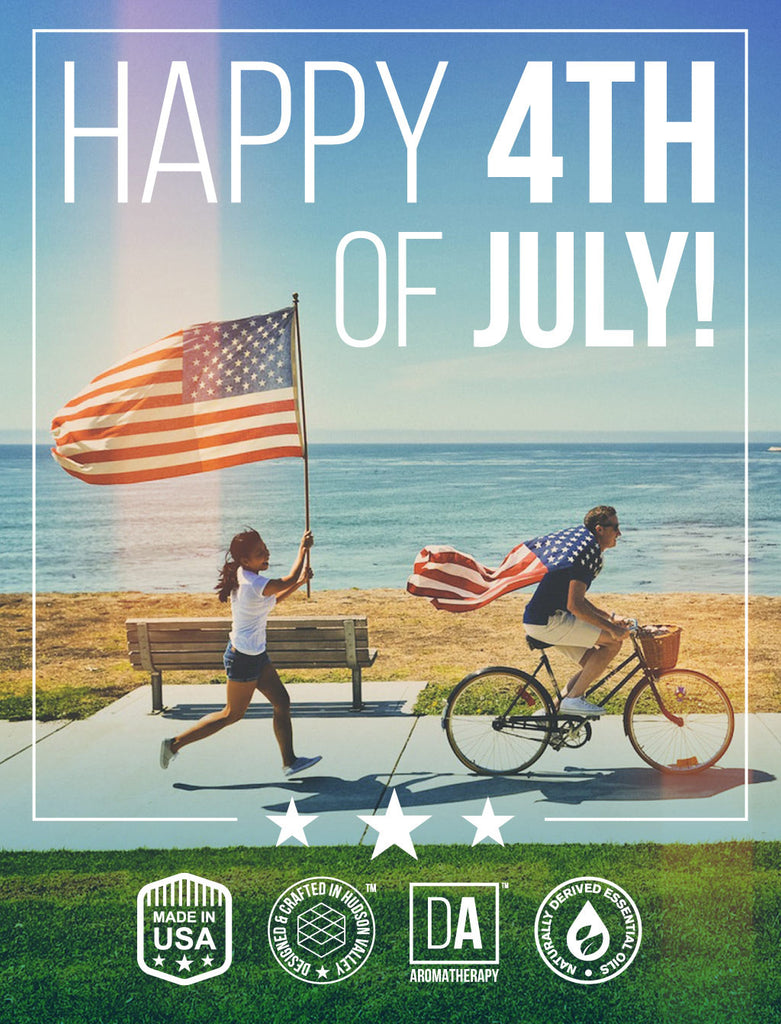 Happy 4th of July from DA Aromatherapy Collection!