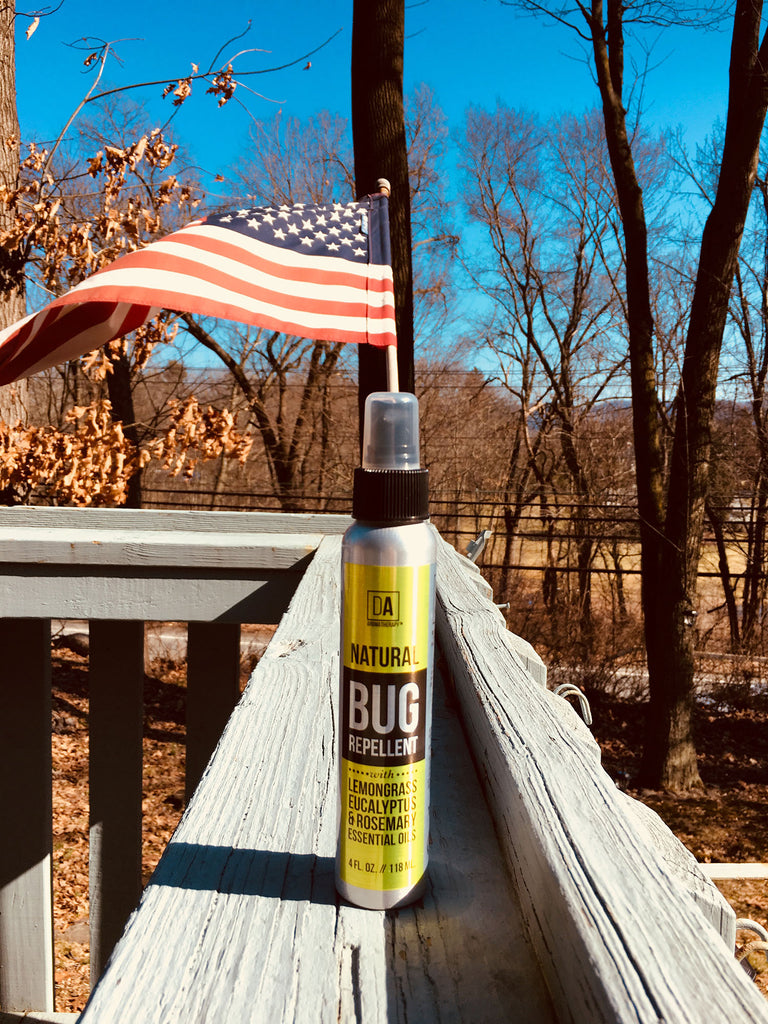 Made in the USA - Woodland Trails Natural Bug (Tick and Mosquito) Repellent by DA Aromatherapy Collection