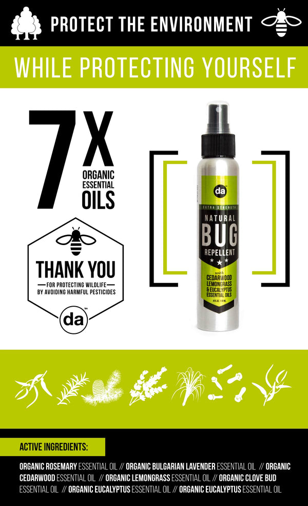 Use Natural Bug Sprays - Save The Planet!
