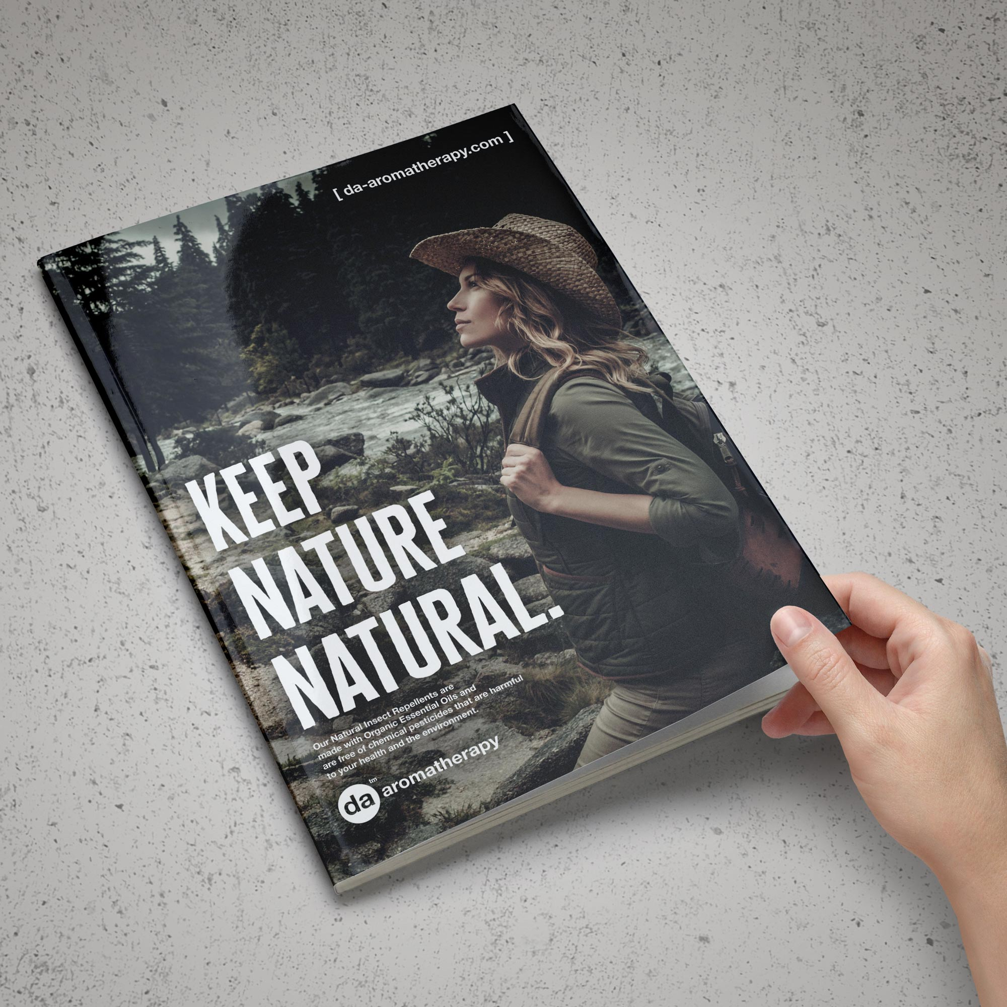 Keep Nature Natural - Introduction of DA Aromatherapy 2.0 in the Magazine Ad Campaign