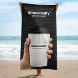 AlmaxRealty - Coffee Cup Beach Towel
