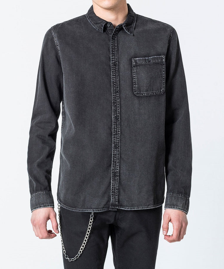 Cheap Monday - Camicia Denim Jeans