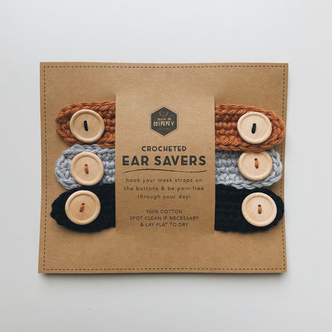Ear Savers | Neutral (3 Pack)