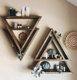 BOHO DOUBLE TRIANGLE SHELF *ONLY A FEW LEFT!*