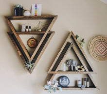 BOHO DOUBLE TRIANGLE SHELF *LIMITED QUANTITIES AVAILABLE*