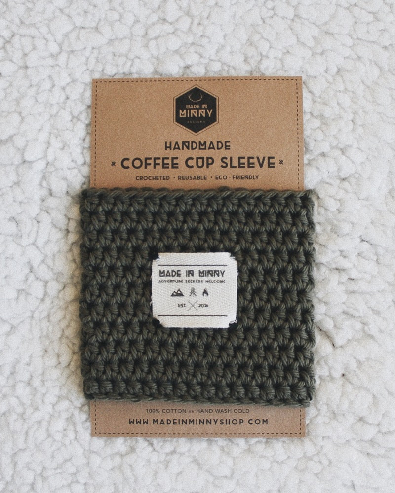 Coffee Cup Sleeve | Olive