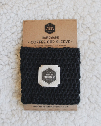 Coffee Cup Sleeve | Black