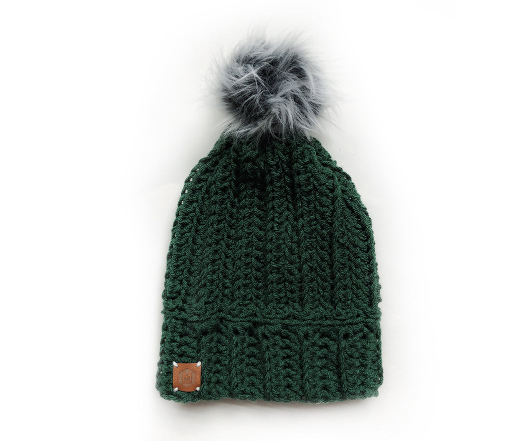 Cabin Life Beanie | Forest Green