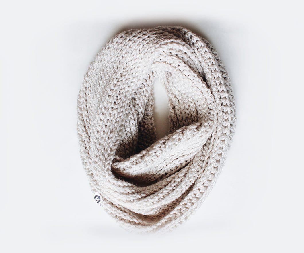 Double Wrap Scarf | Clay
