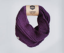 Double Wrap Scarf | Deep Purple
