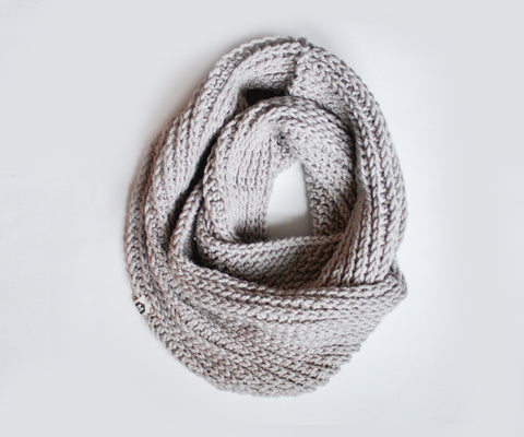 Double Wrap Scarf | Dove Gray