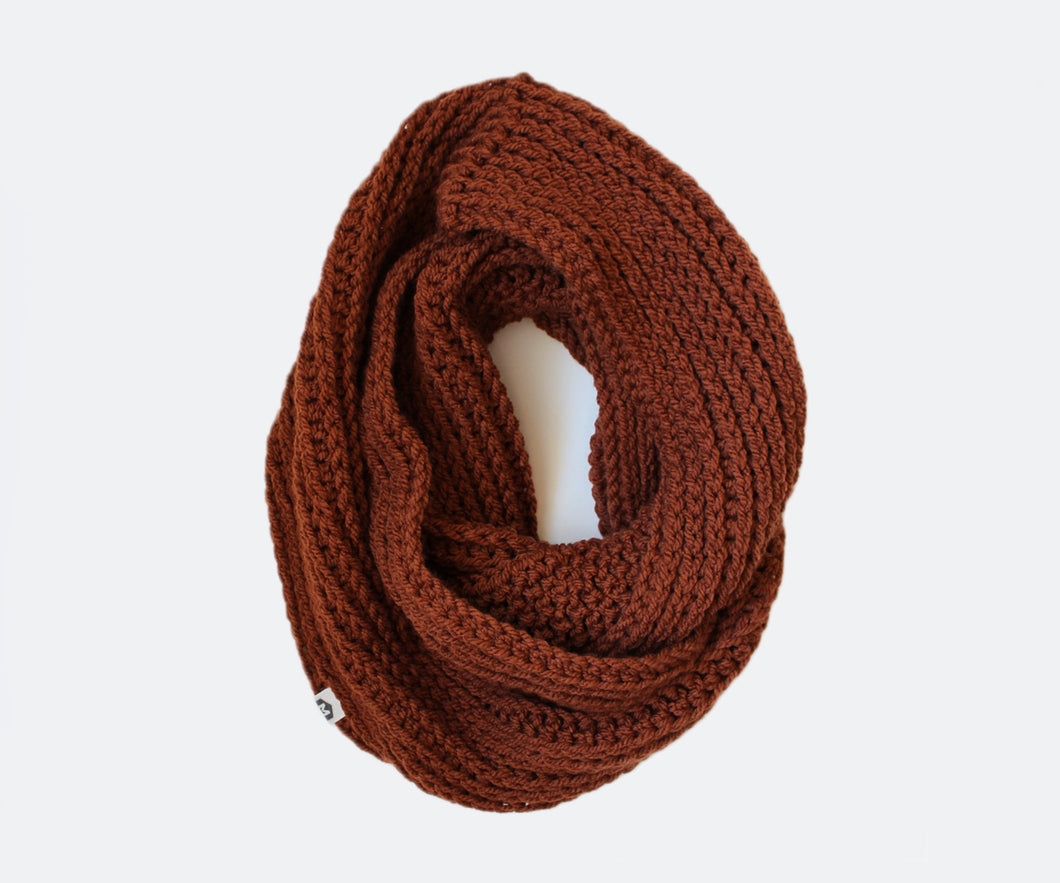 Double Wrap Scarf | Gingerbread