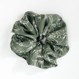 Greenery XL Scrunchie