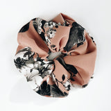 Peach Floral XL Scrunchie