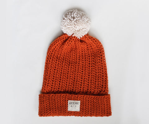 Venture Beanie | Burnt Orange