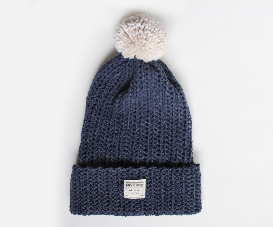 Venture Beanie | Dark Denim