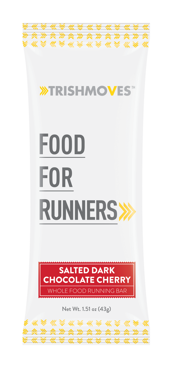Salted Dark Chocolate Cherry Running Bar