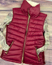 Reversible Puffy Vest