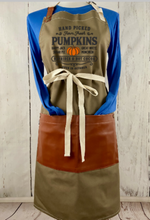 Fall Pumpkins Full Length Apron