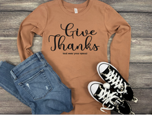 Give Thanks Long Sleeve Graphic Tee