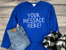 Personalized Long Sleeve Graphic Tee