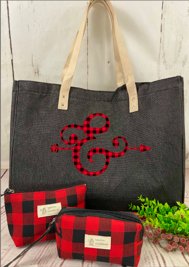 Buffalo Plaid Ampersand Bag