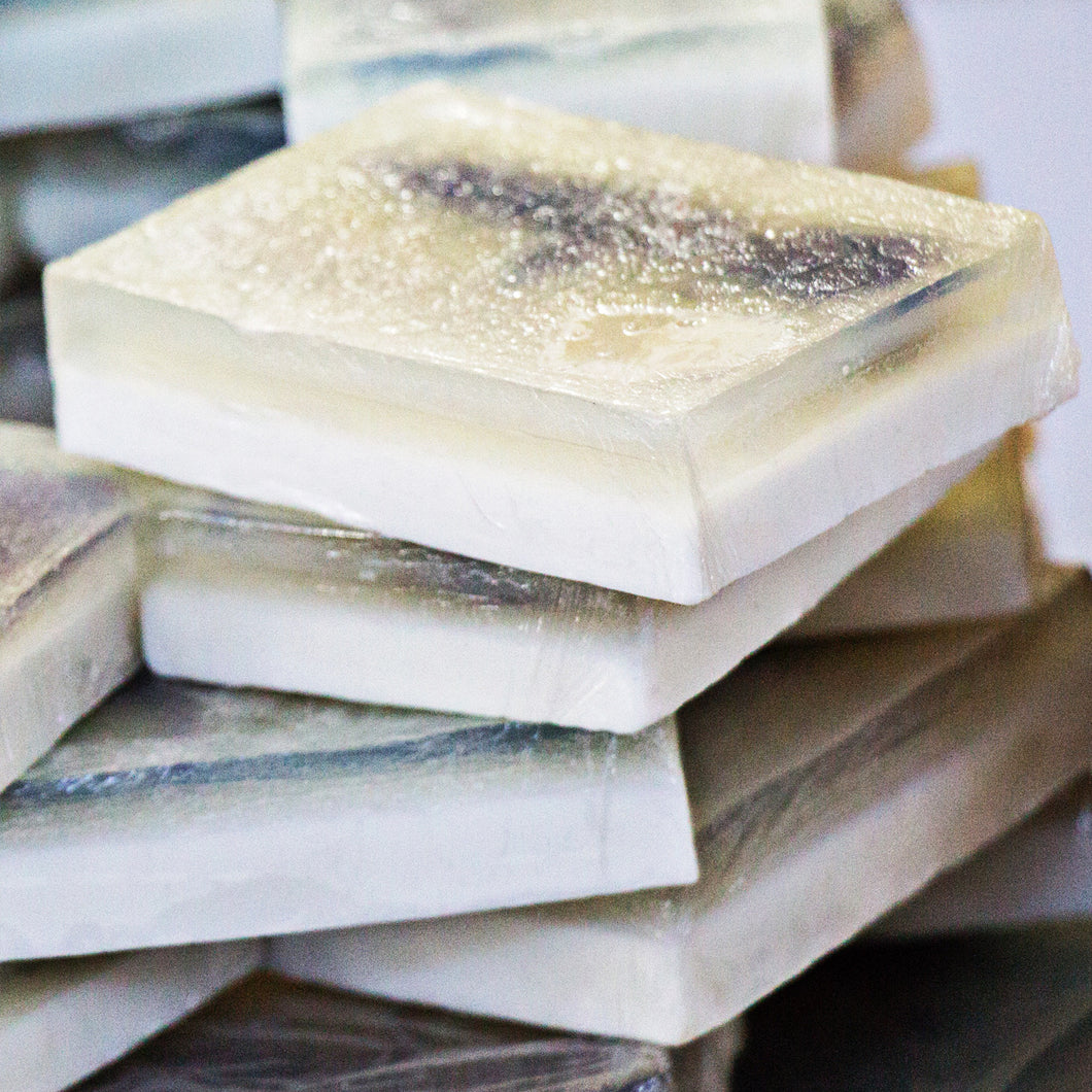 Mint Shimmer Bar Soap