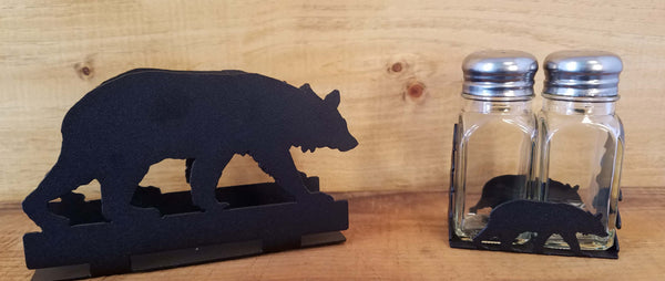 Bear Napkin and Shaker Sets