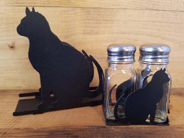 Cat Napkin and Shaker Sets