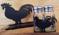 Rooster Napkin and Shaker Sets