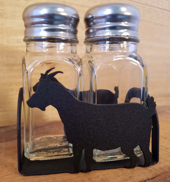 Goat Salt and Pepper Shakers