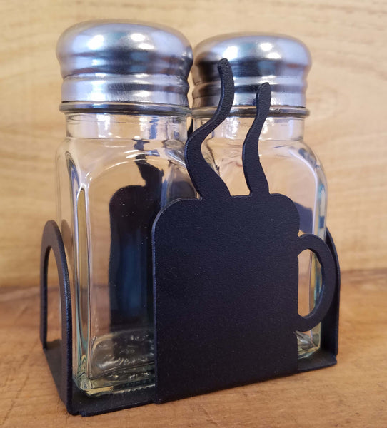 Coffee Cup Salt and Pepper Shakers