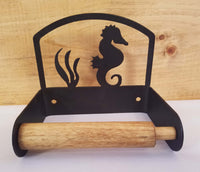 Sea Horse Toilet Paper Holder