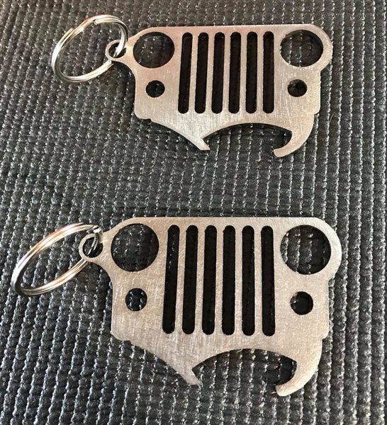 Jeep Bottle Opener/Keychains