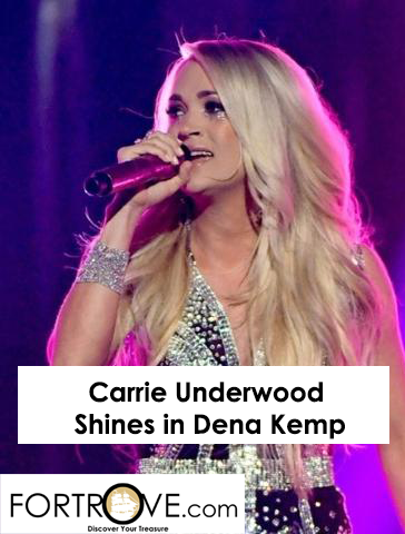 Carrie Underwood Shines in Dena Kemp Diamond Cuff at AMAs