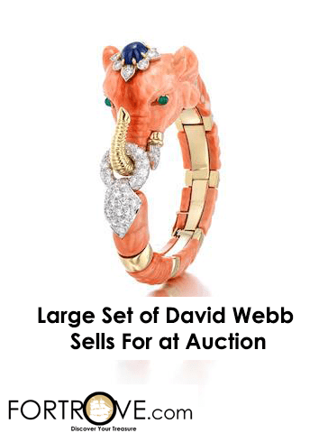 Large Collection of David Webb Sells For Pretty Pennies at Bonhams